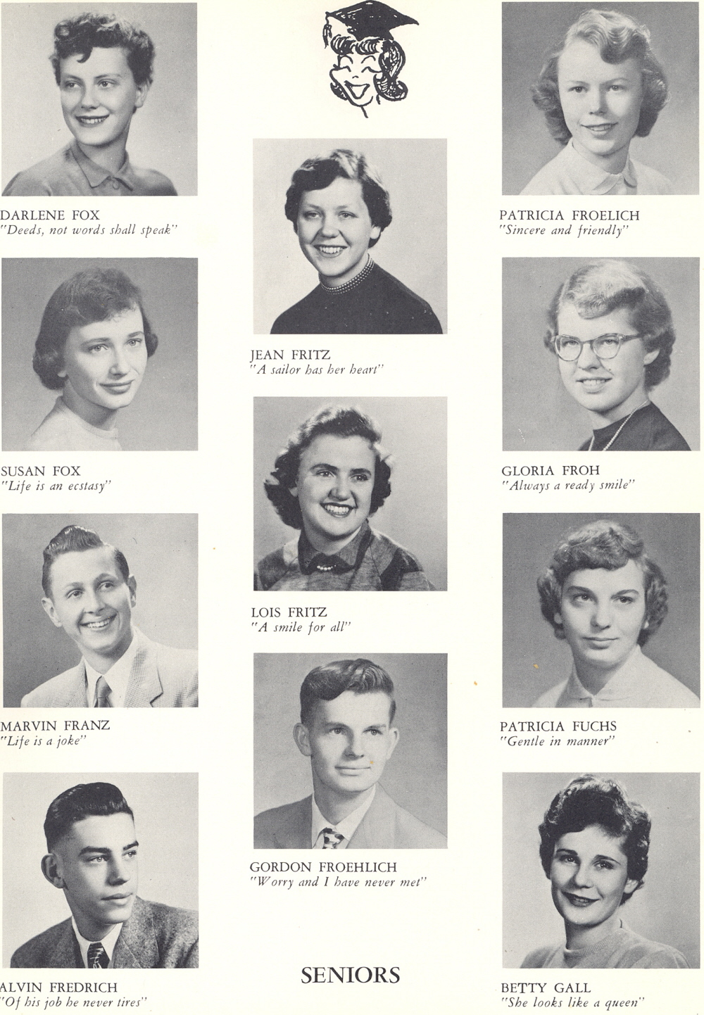1953 Sheboygan Central High School Yearbook