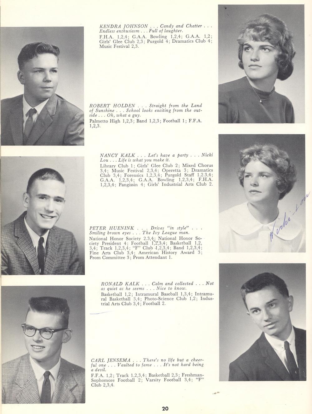 1962 Sheboygan Falls High School Yearbook