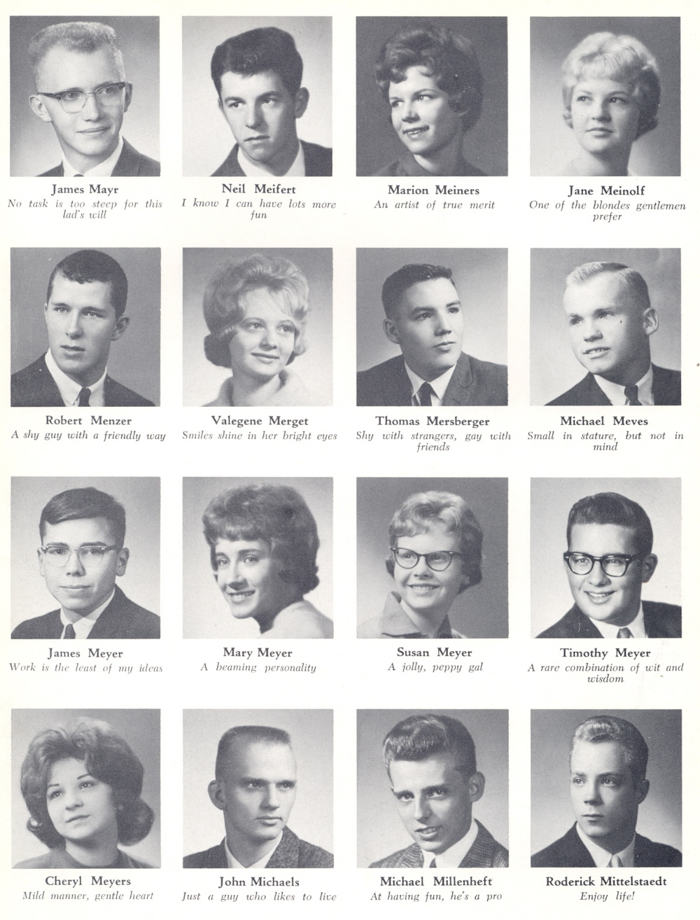 My Yearbook: 1960